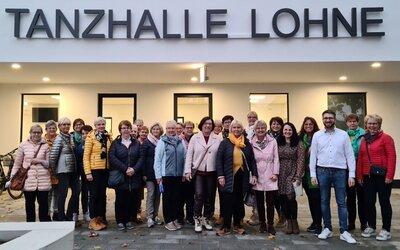 Fotoalbum Landfrauenverein Lohne - Besichtigung der neuen Tanzhalle am 14.10.2021