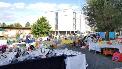 Bild vom Flohmarkt