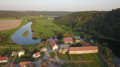 Kloster Buch (Luftaufnahme: M. Unger)