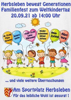 Familienfest zum Weltkindertag