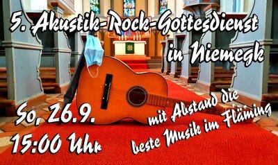 Fünftes Akustik-Rock-Festival am 26.9. in Niemegk - Mit Abstand die beste Musik im Fläming