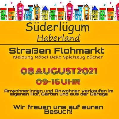 Haberland Straßen Flohmarkt