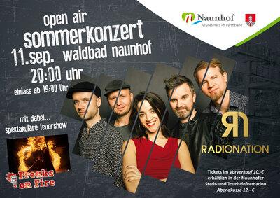 RadioNation am 11. September im Waldbad
