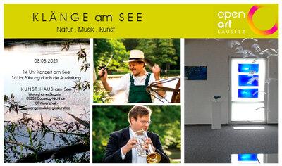 KLÄNGE am See – Natur . Musik . Kunst - Im Rahmen der open-art-Lausitz