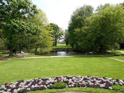 Schlosspark Uebigau (Archivbild Stadt)