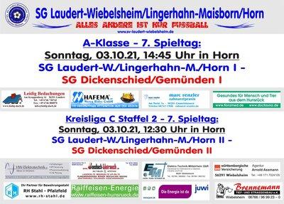 7. Spieltag der SG Laudert/Lingerhahn/Horn