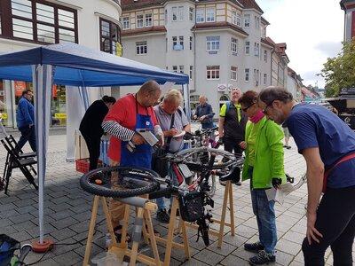 Fahrradcodierung in Suhl