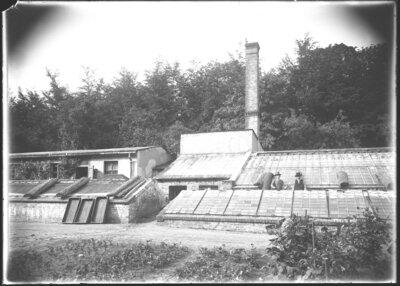 Die Königliche Hofgärtnerei um 1930, Foto: DIZ