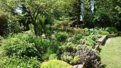 Garten der Villa Fohrde
