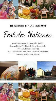 Flyer Fest der Nationen