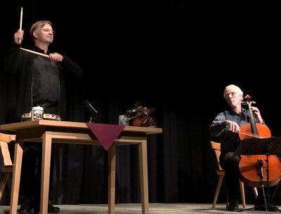 Michael Lerchenberg & Jobst H. Hecker © Eva-Maria Lerchenberg-Thöny