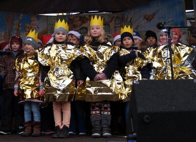 Bühnenauftritt zum Weihnachtsmarkt 2017