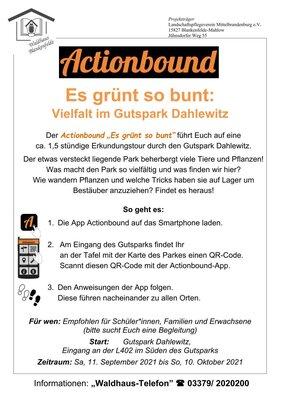 Handytour Dahlewitz © Mareike Conrad, Waldhaus Blankenfelde/ Landschaftspflegeverein Mittelbrandenburg e.V.