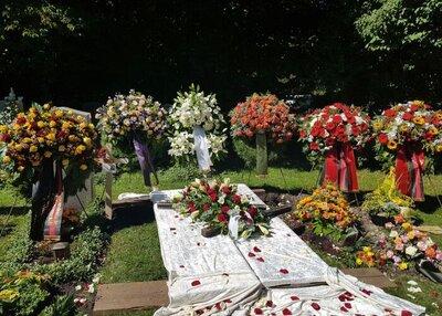Ruhestätte auf dem Pasinger Friedhof