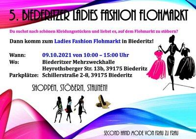 Flyer Fashion Flohmarkt
