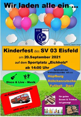 KInderfest am 20.September 2021