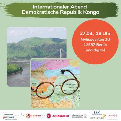Internationaler Abend zu Kongo (Kinshasa)