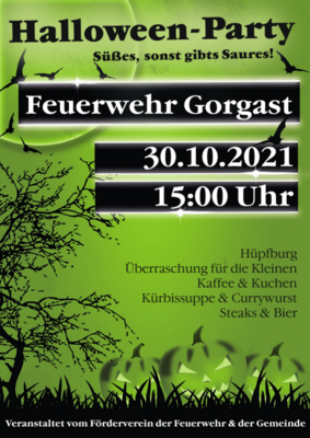Halloween-Party Flyer