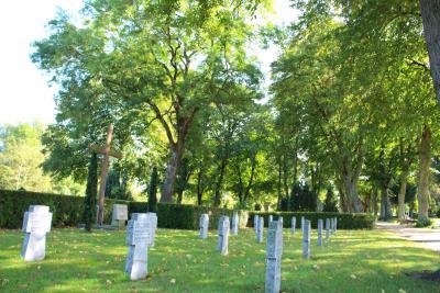 Der Ehrenfriedhof Warin