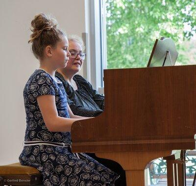 Musikschulauftritt 2019. Foto: Gerlind Bensler
