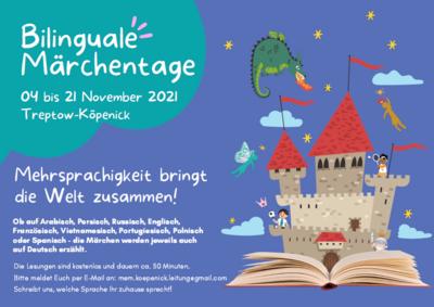 Bilinguale Märchentage im November 2021  in Treptow-Köpenick