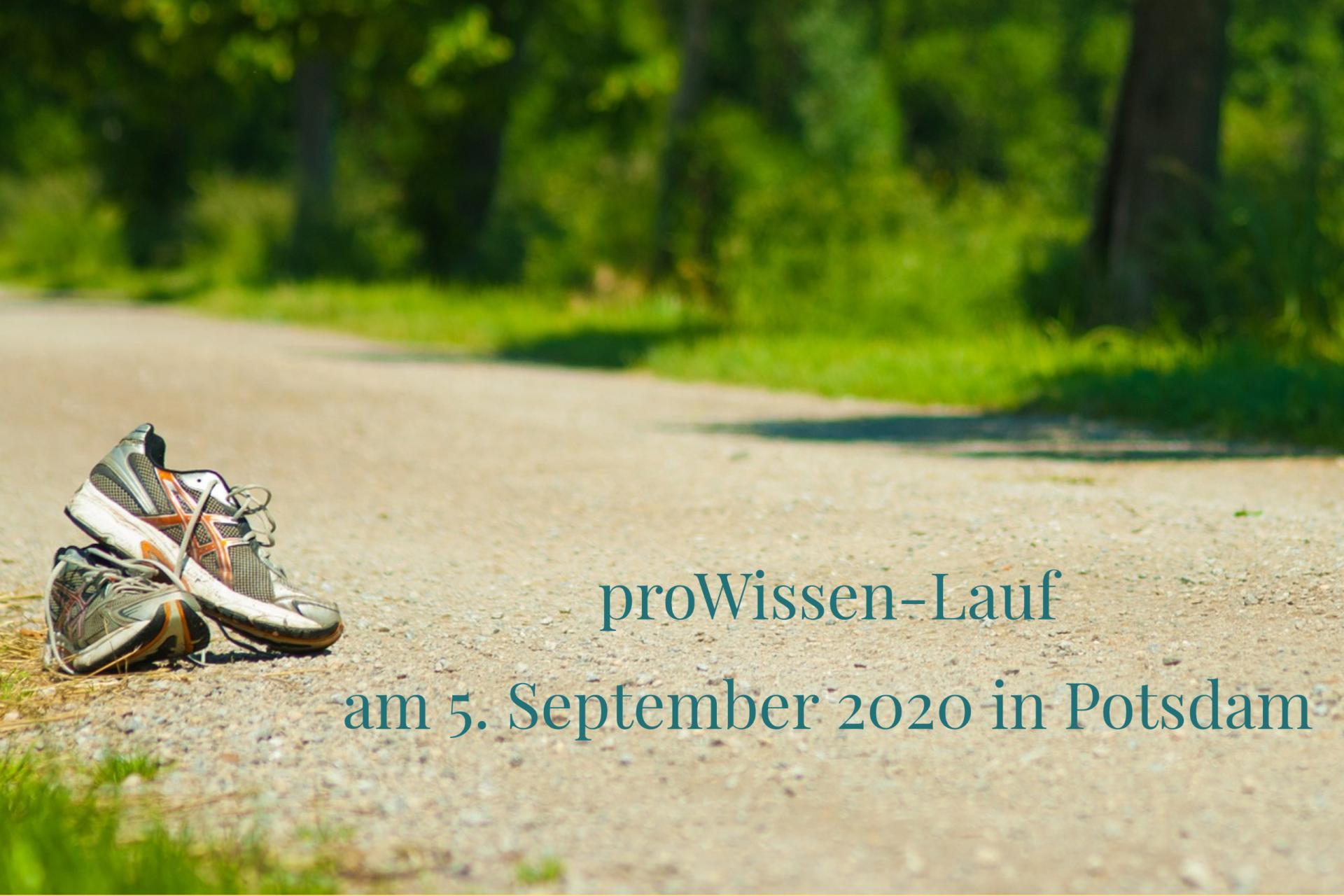 proWissenLauf in Potsdam