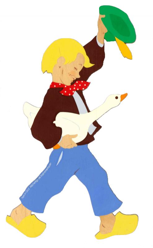 Deko-Wandfigur: Hans im Glück