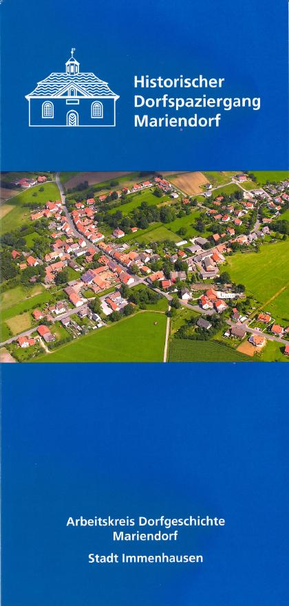 Flyer Historischer Dorfspaziergang