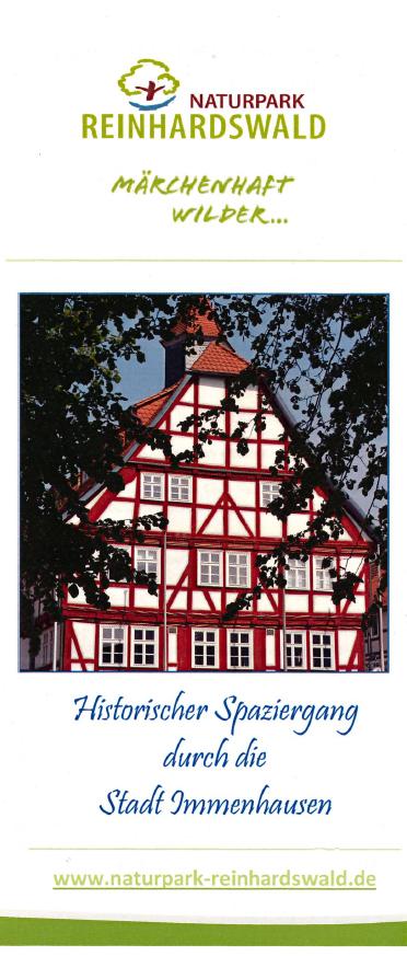 Flyer Historischer Stadtspaziergang