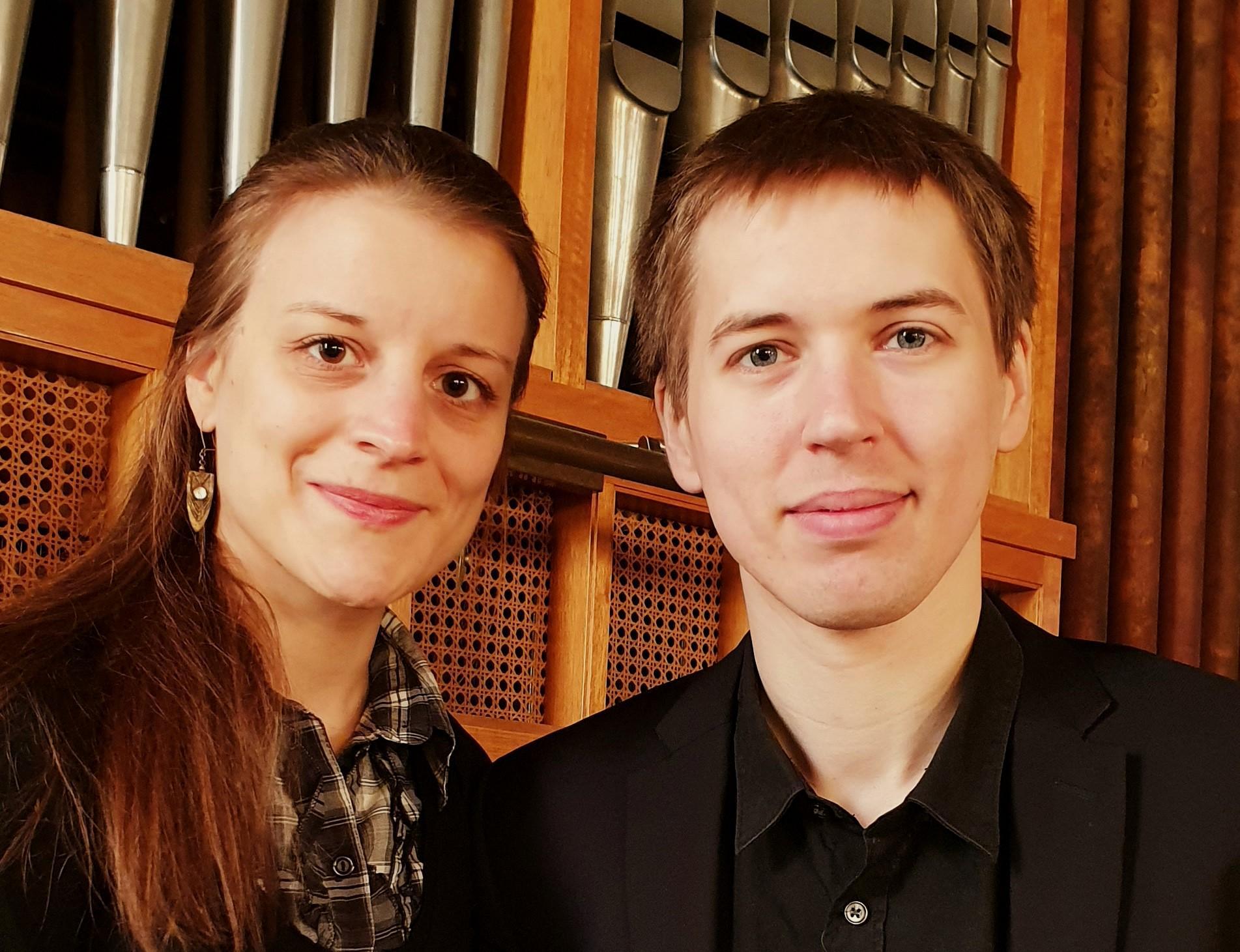 Die beiden Kirchenmusiker Parchims