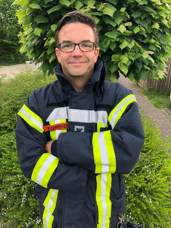Ortsbrandmeister Markus Gemmeker