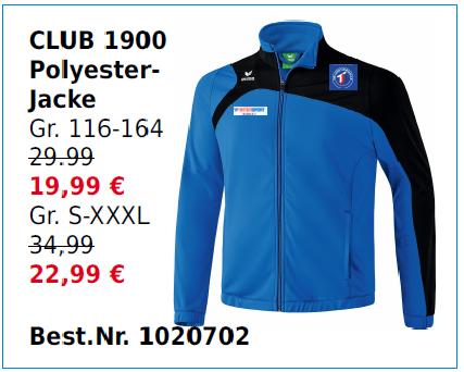Club 1900 Polyesterjacke