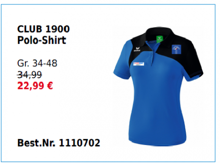Damen Club 1900 Polo-Shirt