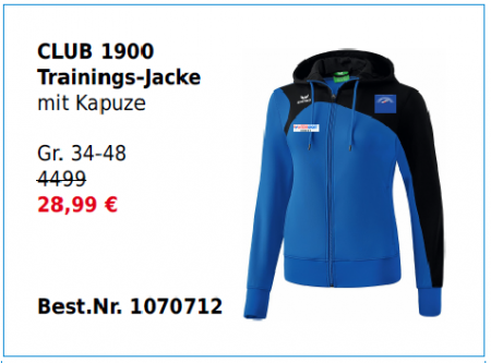Damen Club 1900 Trainingsjacke