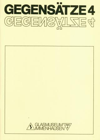 GEGENSÄTZE 4