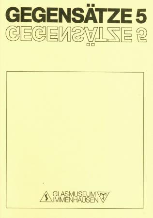 GEGENSÄTZE 5