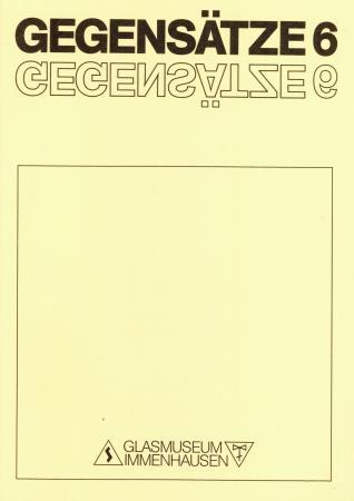 GEGENSÄTZE 6