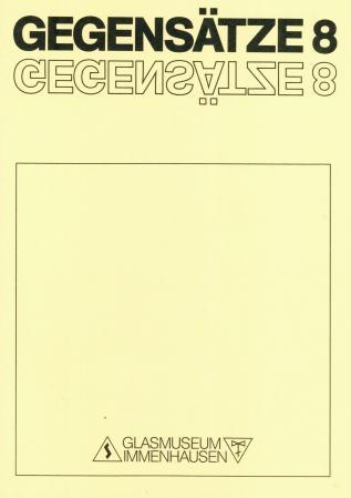 GEGENSÄTZE 8