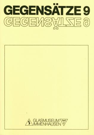 GEGENSÄTZE 9