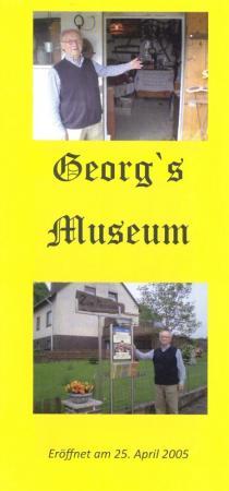 Flyer: Georg`s Museum