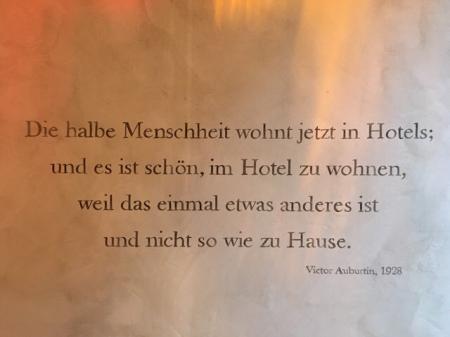 Wohnen im Hotel