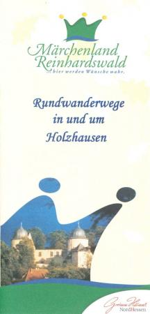 Flyer: Rundwanderwege in und um Holzhausen