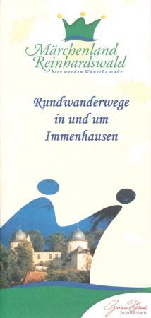Flyer: Rundwanderwege in und um Immenhausen