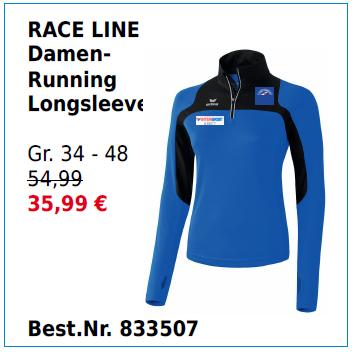 RACE LINE Damen Running Longsleeve