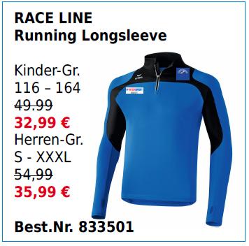RACE LINE Running Longsleeve