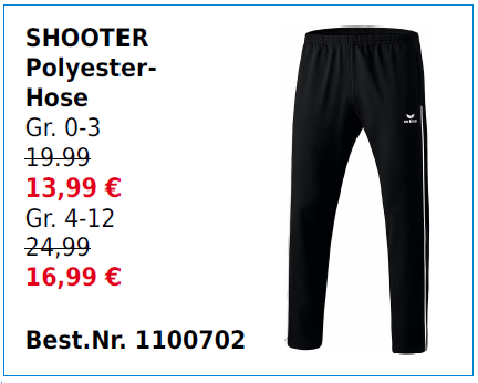 Shooter Polyesterhose