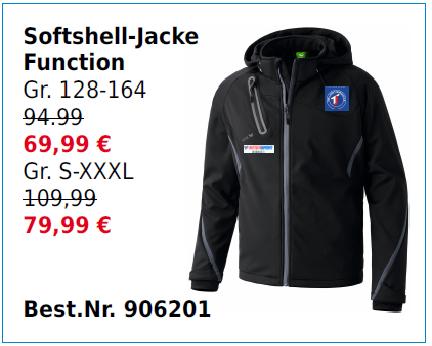 Softshell-Jacke Funktion