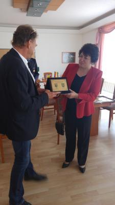 Fotoalbum Besuch aus unserer Partnergemeinde Dolni Chiflik (Bulgarien)