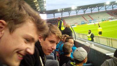 Fotoalbum Ausflug B-Jugend zur U21 Qualifikation nach Ingolstadt