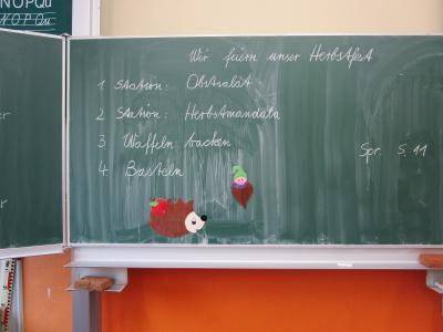Fotoalbum Herbstfest Klasse 2